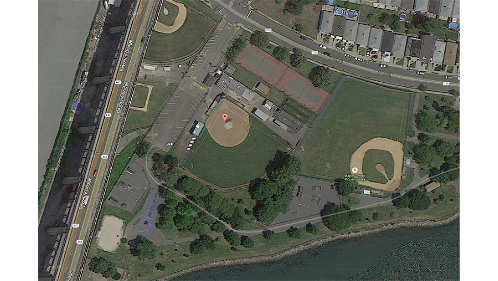 Bayonne Ballfields project by E&LP