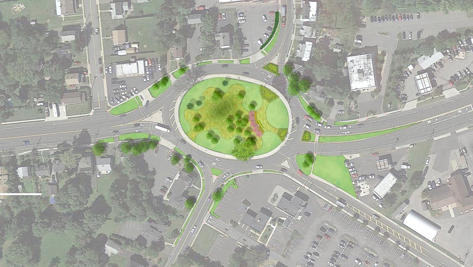 Flemington Route 12 Circle project by E&LP
