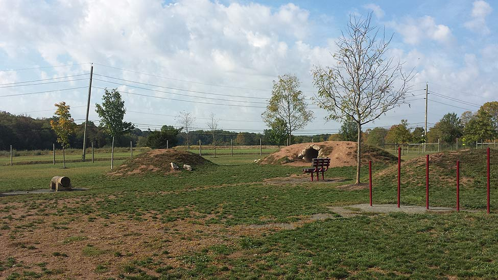 Off leash dog park project by E&LP