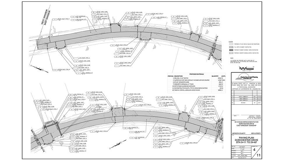 Dorchester Drive Engineering Amp Land Planning Associates